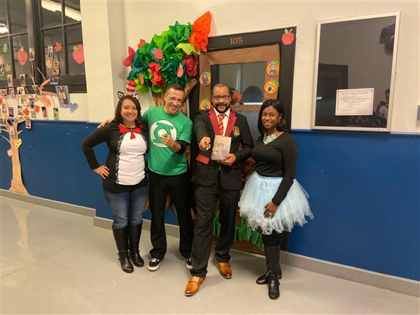 Character Day! Our school leaders and scholars dressed as their favorite book characters for PAC Academy's Character Day.