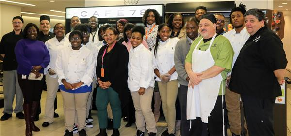 GSK's Mosaic ERG, Center Cafe 78 staff and MPTCS Culinary Students