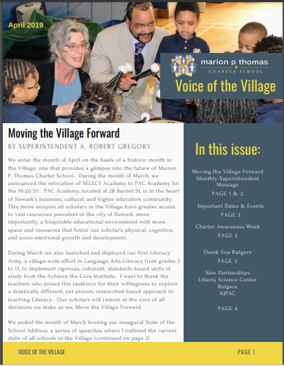 Voice of the Village Newsletter