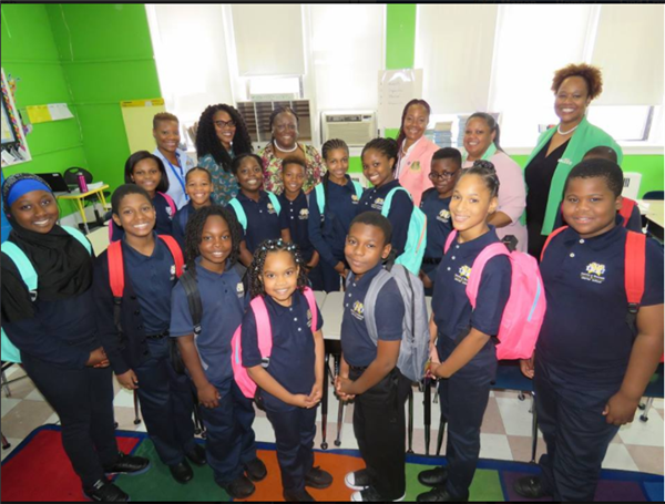 AKAs donate backpacks to MPTCS