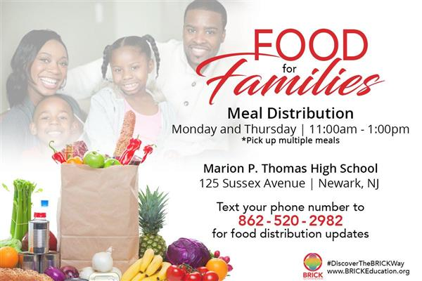 Covid-19 Resource:  Food Distribution