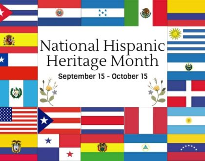 Celebrating Diversity:  Hispanic Heritage Month Sept. 15 - Oct. 15
