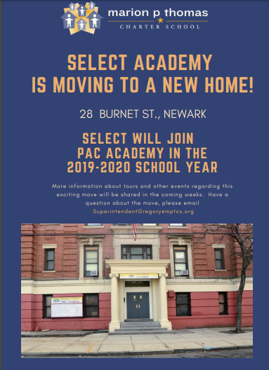 SELECT Academy is Moving to a New Home!