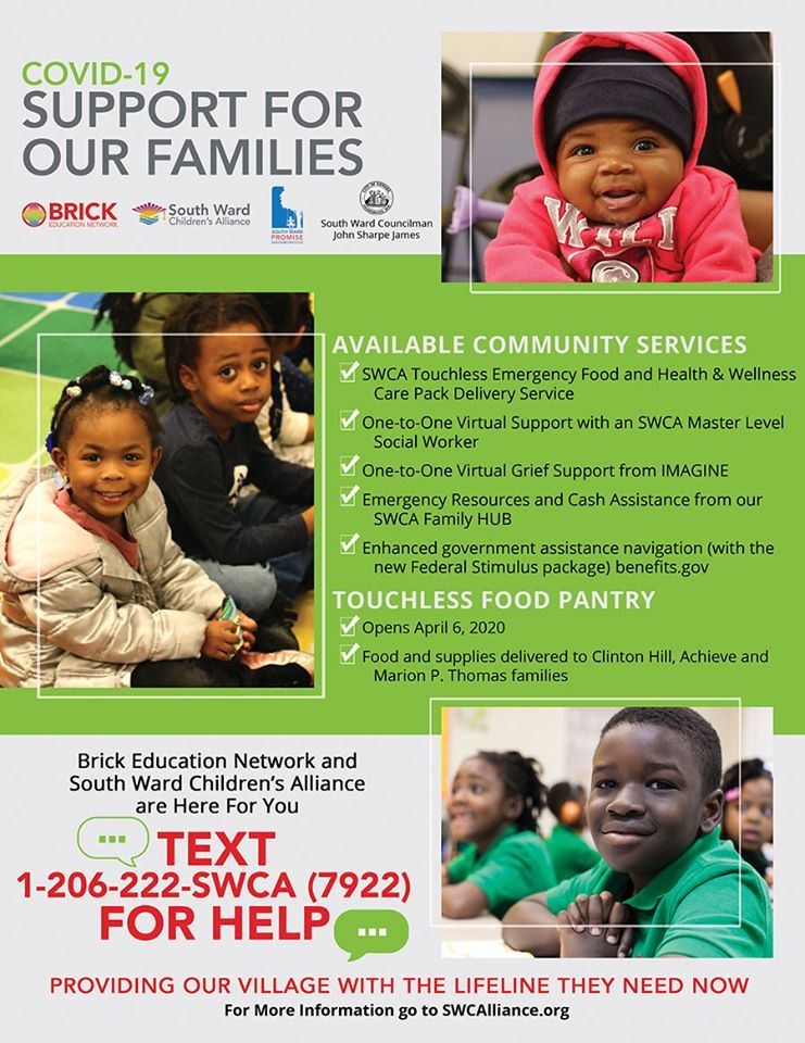 South Ward Children's Alliance (SWCA) offering support for MPTCS Families