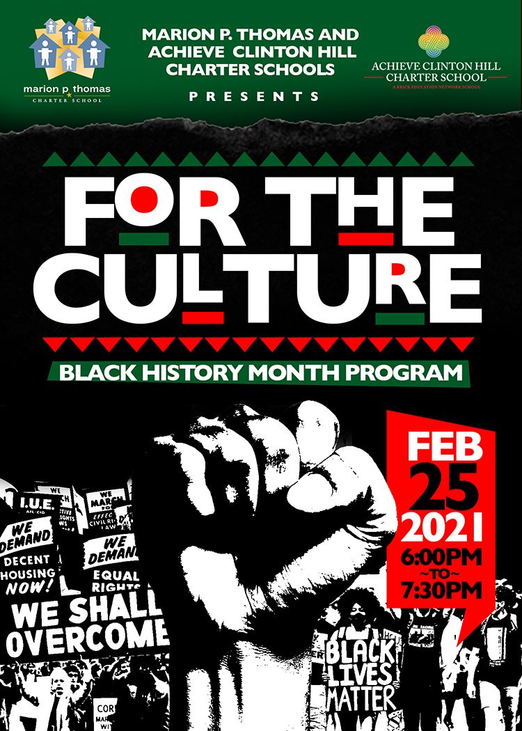 Black History Month Showcase Feb, 25 at 6pm